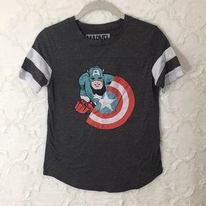 Marvel Captain America Tee Xs